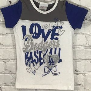 Dodgers MLB Sparkly T-shirt GUC